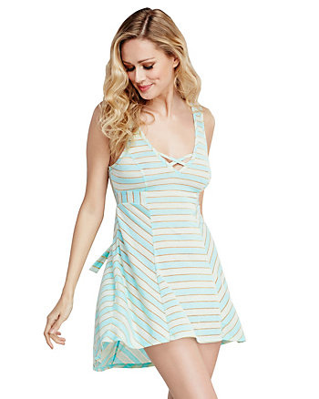 PLAYFUL STRIPES KNIT SLIP