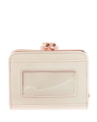 PLEATS AND THANK YOU MINI WALLET BLUSH