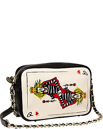 POKER FACE BJ CARD CROSSBODY