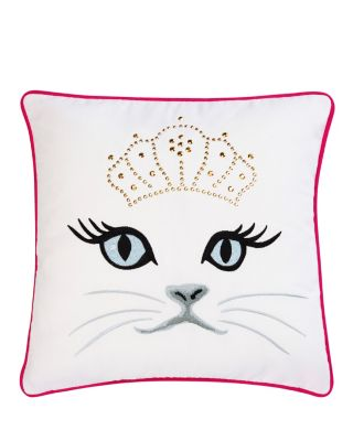 POLISHED PUNK CAT PILLOW