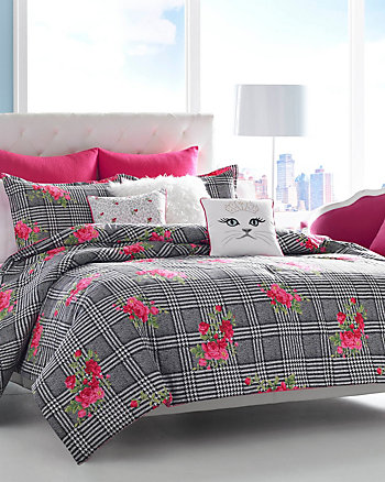 POLISHED PUNK TWIN COMFORTER SET