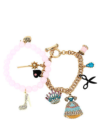 PRINCESS CHARMING BRACELET SET