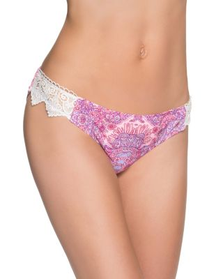 PRINCESS CHARMING CHEEKY HIPSTER BOTTOM PINK MULTI