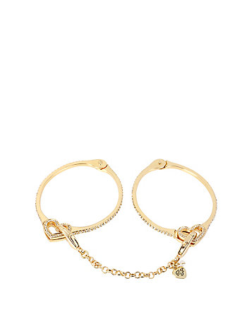 PRISONER OF LOVE HANDCUFF BANGLES