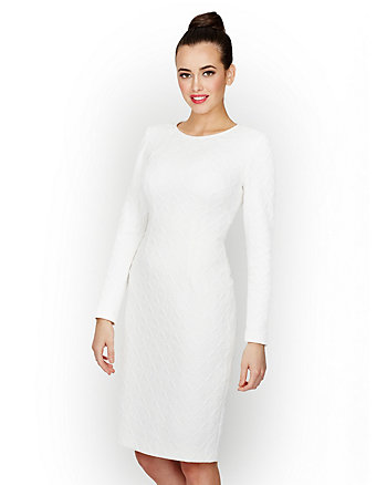 PRISTINE AND PRETTY KNIT DRESS