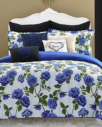 REGAL ROSES TWIN COMFORTER SET