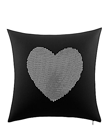 ROCK OUT HEART SEQUIN PILLOW