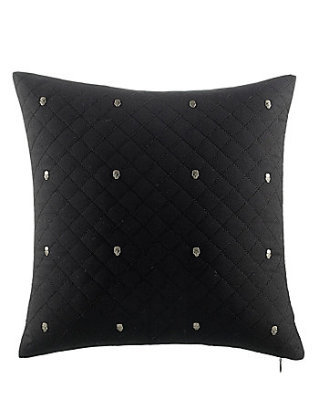 ROCK OUT SKULL STUD PILLOW