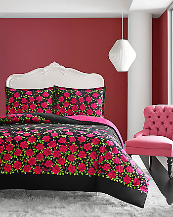 ROSE GARDEN TWIN COMFORTER SET