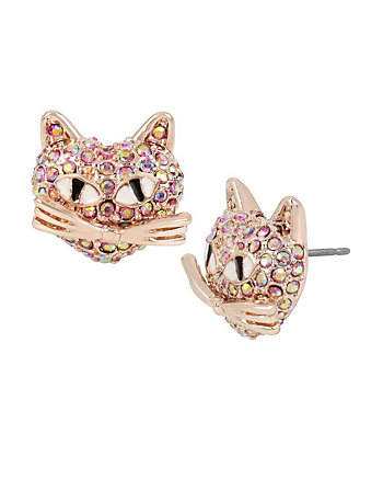 ROSEY KITTY STUD EARRINGS
