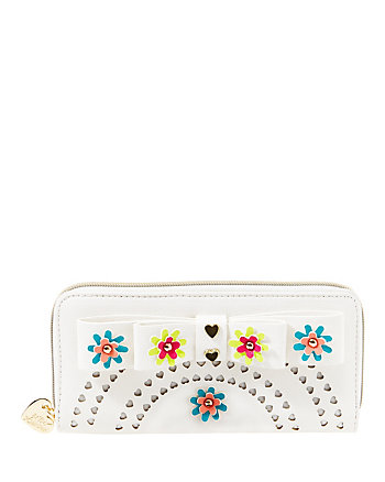 ROSIE POSIE ZIP AROUND WALLET