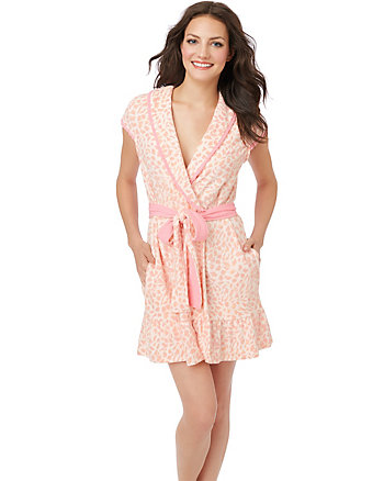 RUFFLE EDGE BABY TERRY ROBE