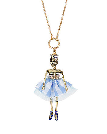 SKULLS AND ROSES SKULL GIRL PENDANT
