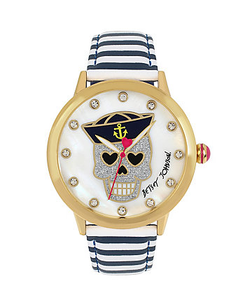 SKULLS AND STRIPES WATCH