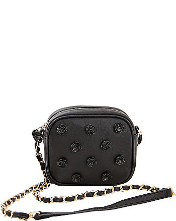 SMELL THE ROSES CROSSBODY