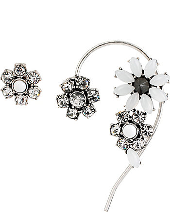 SOMETHING NEW FLOWER EAR CUFF