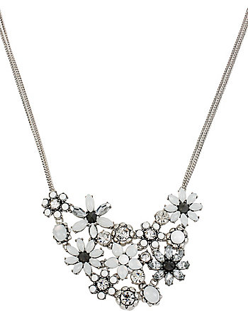 SOMETHING NEW FLOWER FRONTAL NECKLACE