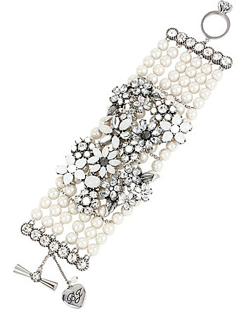 SOMETHING NEW PEARL TOGGLE BRACELET