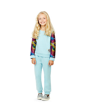 SPARKLE LOUNGE TWO PIECE GIRLS 4-6X SET