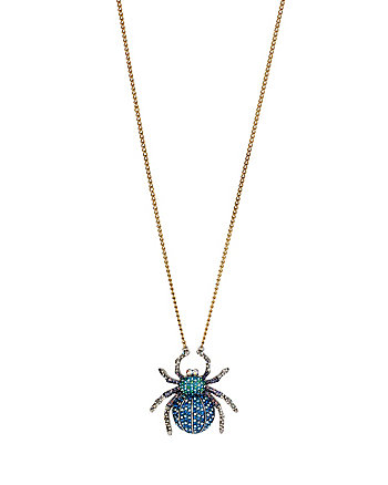 SPIDER LUX PAVE LONG PENDANT