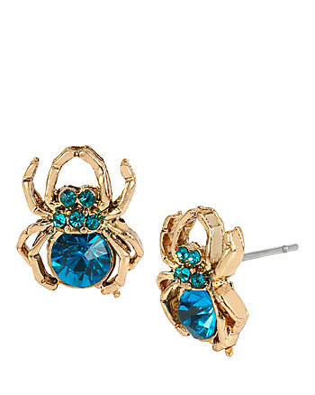 SPIDER LUX STUD EARRINGS