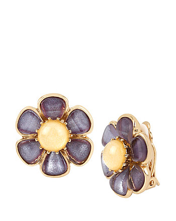 SPRING AHEAD FLOWER CLIP EARRINGS