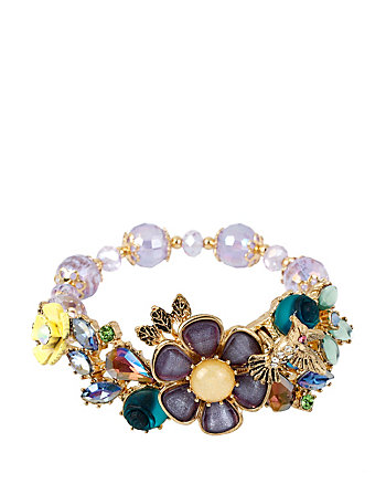 SPRING AHEAD FLOWER STRETCH BRACELET