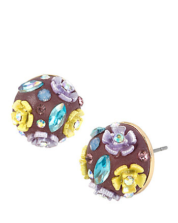 SPRING AHEAD ORB STUD EARRINGS
