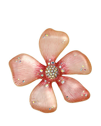 SPRING PINS PINK FLOWER