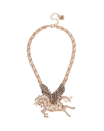 STATEMENT CRITTERS PEGASUS NECKLACE