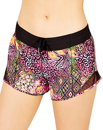 STRETCH WOVEN RUNNING SHORTS