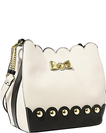STUDDED AFFAIR BUCKET BAG