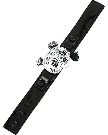 SUGAR CRITTERS SUGAR PANDA LEATHER BRACELET