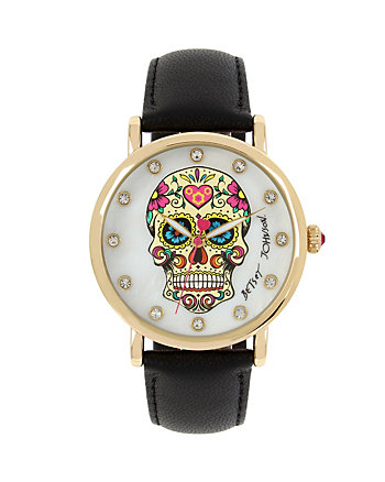 SUGAR SKULL BLACK WATCH