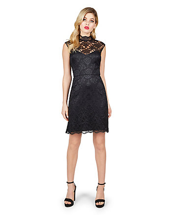 SUMPTUOUS LACE DRESS