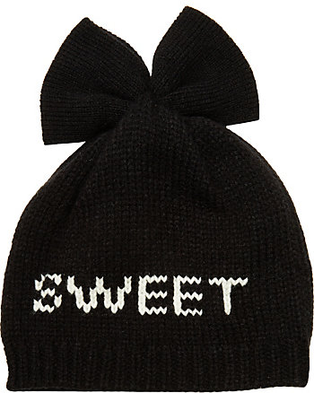 SWEET HEART BOW BEANIE