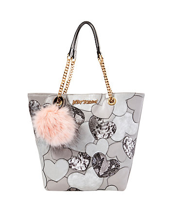 SWEET HEARTS NORTH SOUTH TOTE
