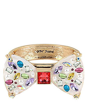 SWEET SHOP BIG BOW HINGE BANGLE