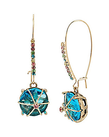 SWEET SHOP HARD CANDY BLUE EARRINGS