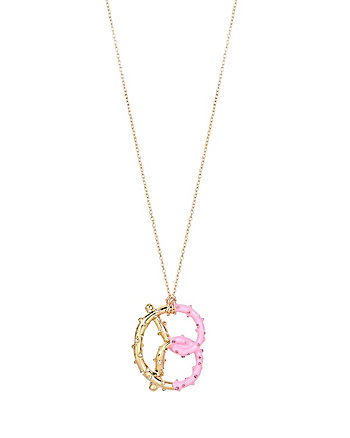 SWEET SHOP PRETZEL PENDANT