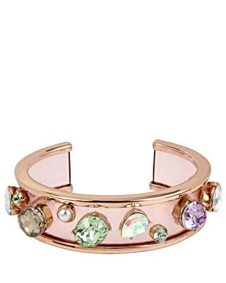 SWEET SHOP RESIN CUFF BRACELET MULTI