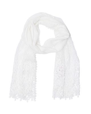 SWEET STORIES SCARF WHITE