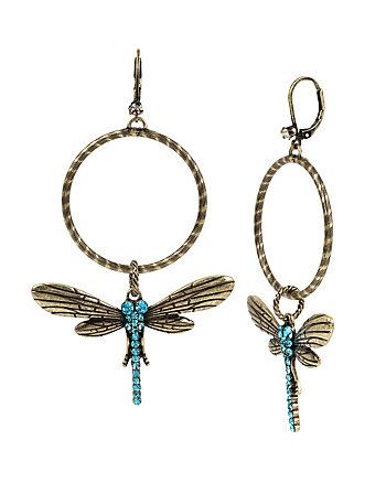 THROWBACK TO VINTAGE BJ DRAGONFLY EARRINGS