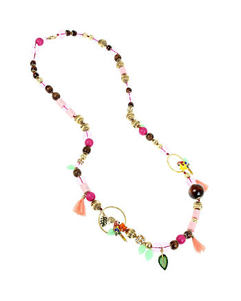 TROPICAL PUNCH LONG NECKLACE