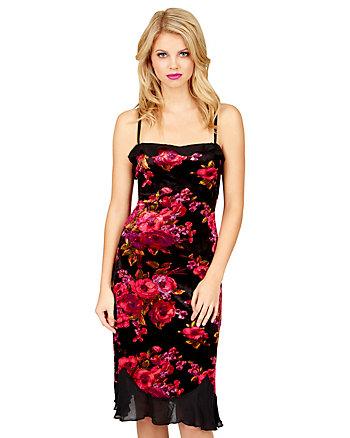 Velvet gounded Dress