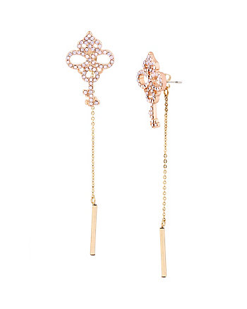 WANDERLUST KEY LINEAR EARRINGS