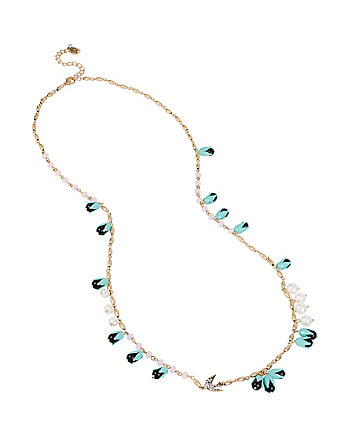 WANDERLUST MULTI FLOWER LONG NECKLACE