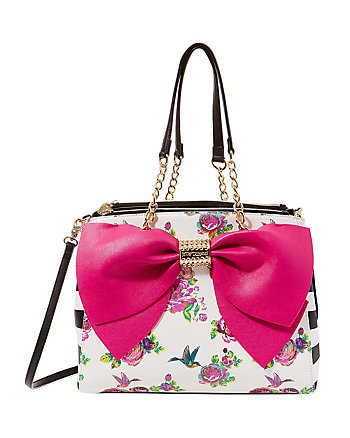 WELCOME TO THE BIG BOW SATCHEL