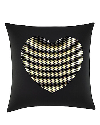 WILD THING HEART SEQUIN PILLOW