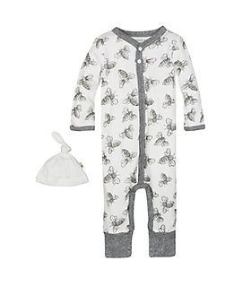 Bee Coverall & Hat Set